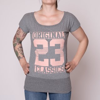 Label 23 Original Classic T-Shirt (Grau-Meliert)