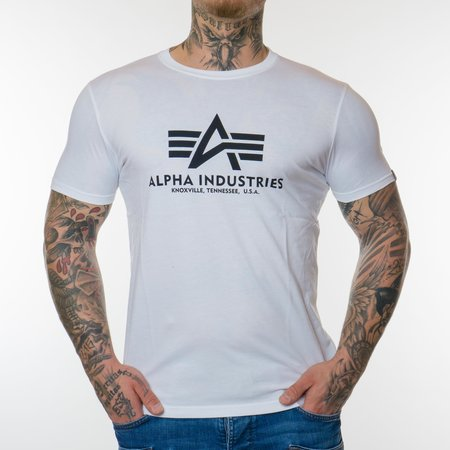 Alpha Industries Basic T-Shirt (Weiß)