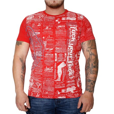 Yakuza F.Y.F. T-Shirt TSB 10016 (Racing Red)