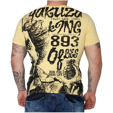 Yakuza Allover King T-Shirt TSB 10003 (Raffia)