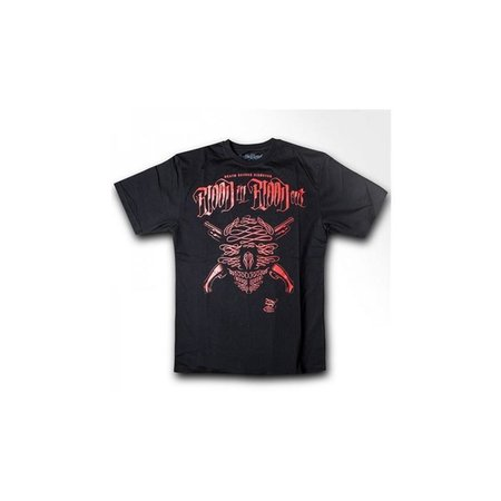 Blood in Blood Out Red Gun Cross Shirt Men (Schwarz)