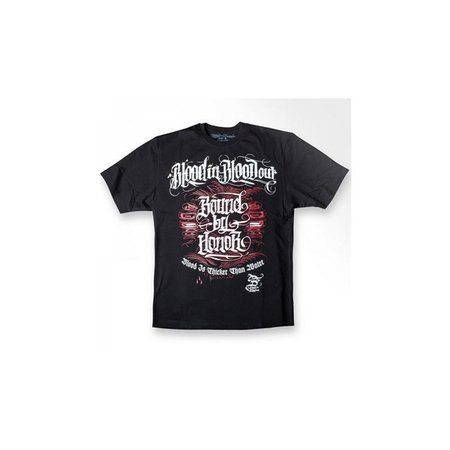 Blood In Blood Out BBH Letters Shirt Men (Schwarz)