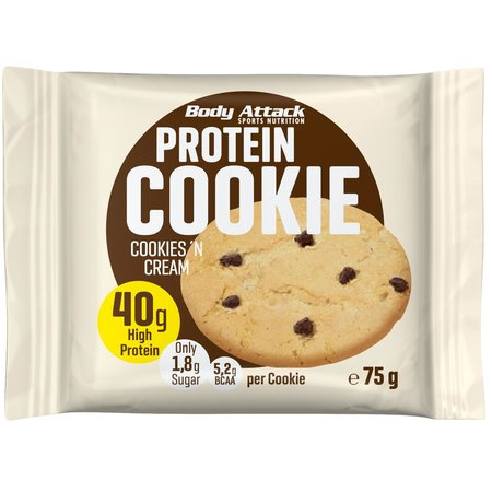 Body Attack Protein Cookie (12x 75g)