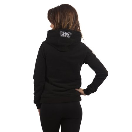 Yakuza Damen Flex Hoodie Between The Lines GHOB 13105 (Schwarz)