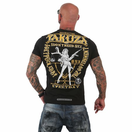 Yakuza Herren T-Shirt Everyday TSB 12013 (Schwarz)