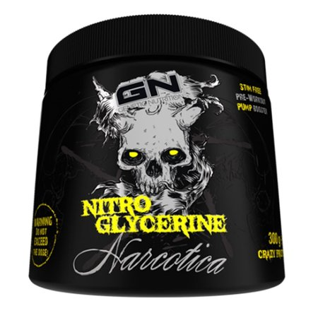 GN Laboratories Narcotica Nitro Glycerine (300g, Crazy Fruits)