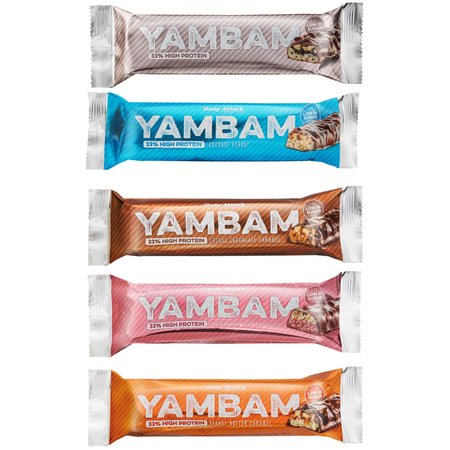 Body Attack YamBam Protein Riegel (80g)