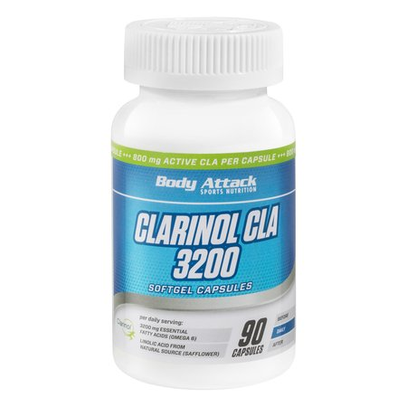 Body Attack Clarinol CLA 3200 (90 Softgel Caps)