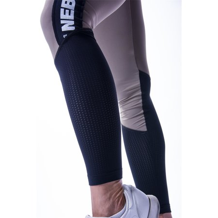 Nebbia Beautiful Inside and Out Frauen High Waist Mesh Leggings 601 (Mocha)