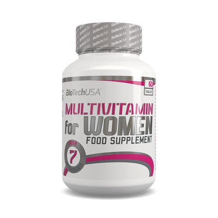 BioTech USA Multivitamin Woman (60 Tabletten)
